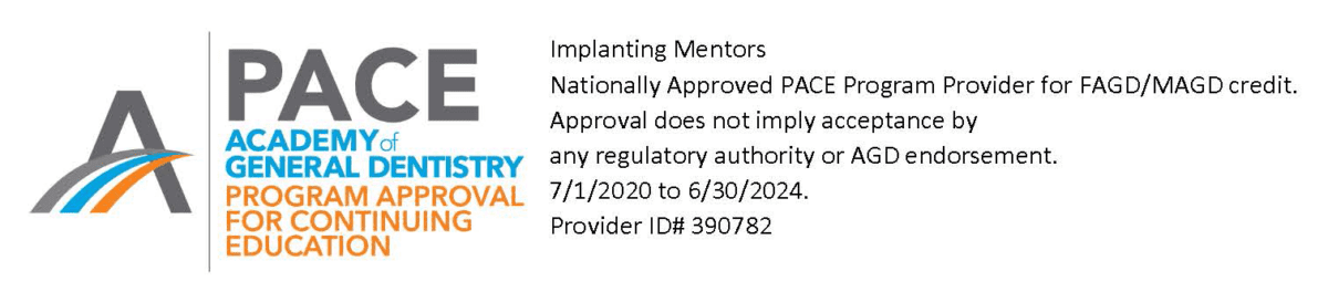 PACE Certification for Implant Beginnings